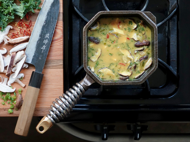 Finex 1 Quart Cast Iron Sauce Pan