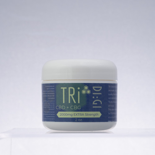 """""""D1:G1"""" Extra Strength Salve,. 2000mg/2oz. with just a hint of menthol. Product"""