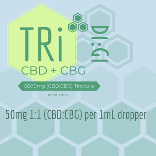 TRi-Brand HDC® Original Strength MCT Tincture 3000mg/60mL