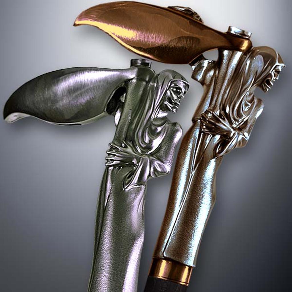 Artistic walking cane Grim Reaper. Style # sh 143