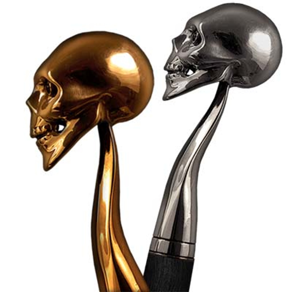 Walking stick Skull can be done from different materials and converted to the swords cane or gun cane.