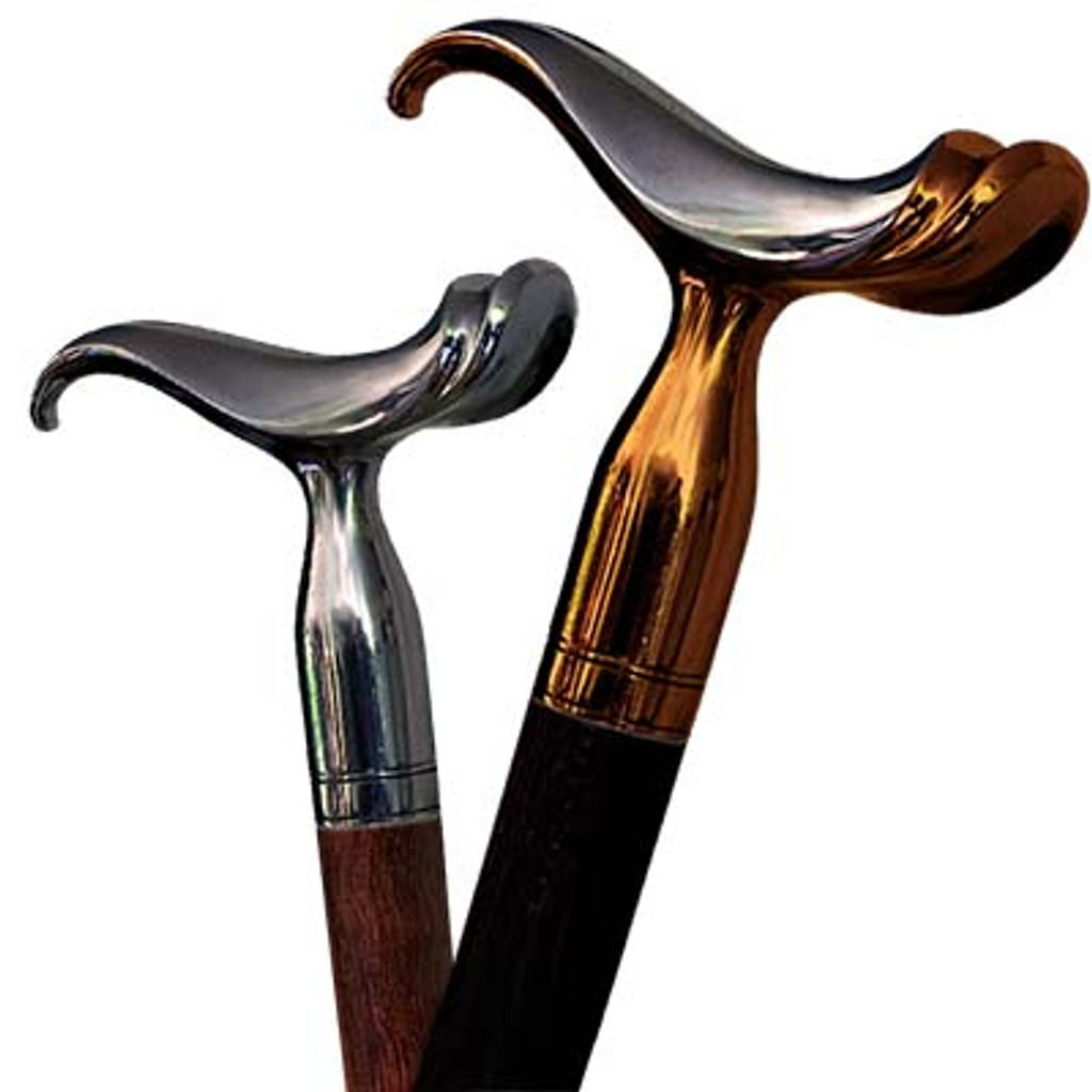Walking cane Saddle can be done from different materials and converted to the swords cane or gun cane.