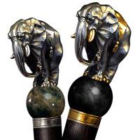 Handmade walking cane Elephant. Style # sh 101