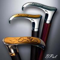 Handmade walking cane Flying Snake. Style # sh 120