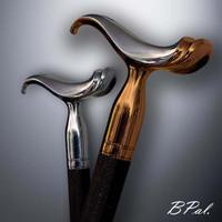 Designer walking cane Saddle. Style # sh 150