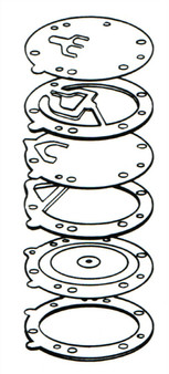 Tillotson HR Double Pumper Diaphram & Gasket Kit