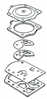 Walbro WB3A OEM Diaphram & Gasket Kit