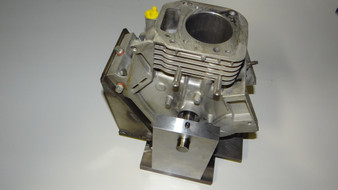 4 Cycle Line Boring Fixture For A Vertical Mill