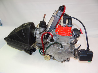 Prepare Rotax complete, includes carb