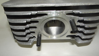 Grind and polish aluminum in Yamaha cylinder