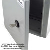 Keyed Lock Set with Keys for NS Series Steel Enclosures and NFC Series FRP Enclosures