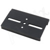80mm Wide Aluminum DIN Rail Mounting Clip for 35mm Top Hat Rail