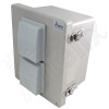 Altelix 10x8x6 Vented Fiberglass Weatherproof NEMA 4X Enclosure with Aluminum Equipment Mounting Plate