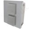 Altelix 14x12x6 Fiberglass Indoor / Outdoor RF Transparent WiFi Access Point NEMA Enclosure with Non-Metallic Equipment Mounting Plate