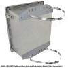 Altelix 14x12x8 FRP Fiberglass Weatherproof NEMA 4x Enclosure with Blank Aluminum Mounting Plate NEMA Box
