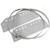 Stainless Steel Pole Mount / Flange Mount Kit for Altelix NF141206, NF141208, NFC161208, NS161208 & NS161212 Series NEMA Enclosures