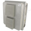 Altelix 14x12x8 Fiberglass Vented Weatherproof NEMA Enclosure with Cooling Fan and 120 VAC Outlets