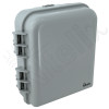 Altelix 10x9x4 IP66 NEMA 4X PC+ABS Plastic Weatherproof Utility Box with Hinged Door