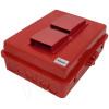Altelix 14x11x5 Red Vented Polycarbonate + ABS Weatherproof NEMA Enclosure
