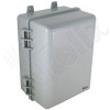 Altelix 12x9x7 IP66 NEMA 4X PC+ABS Plastic Weatherproof Utility Box with Hinged Door