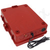 Altelix 14x11x5 Red Polycarbonate + ABS Vented Fan Cooled Weatherproof NEMA Enclosure with Aluminum Mounting Plate, 120 VAC Outlets & Power Cord