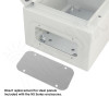 Blank Aluminum Access Panel for NS080806 and NS100806 Enclosures