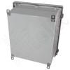 Altelix 14x12x8 Fiberglass Vented Weatherproof NEMA Enclosure with 12VDC Cooling Fan