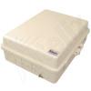 Altelix 14x11x5 Light Ivory DIN Rail Polycarbonate + ABS Weatherproof NEMA Enclosure