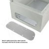 Blank Aluminum Access Panel for NS161208 Enclosures