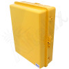 Altelix 17x14x6 Inch Yellow Polycarbonate + ABS Weatherproof NEMA Enclosure
