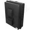 Altelix 17x14x6 Inch Black Polycarbonate + ABS Vented Weatherproof NEMA Enclosure