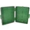 Altelix 14x11x5 IP55 NEMA 3R PC+ABS Green Plastic Weatherproof Utility Enclosure with Hinged Door