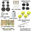 Accessory Kit Included with Enclosure