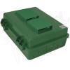 Altelix 14x11x5 Vented Green DIN Rail Polycarbonate + ABS Weatherproof NEMA Enclosure
