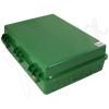 Altelix 17x14x6 Green DIN Rail Polycarbonate + ABS Weatherproof NEMA Enclosure