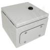 Altelix 8x8x6 Steel NEMA 4x / IP66 Weatherproof Equipment Enclosure with Blank Steel Equipment Mounting Plate