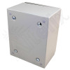 Altelix 10x8x6 Industrial DIN Rail NEMA 4X Steel Weatherproof Enclosure
