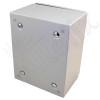 Altelix 10x8x6 Steel NEMA 4x / IP66 Weatherproof Equipment Enclosure with Blank Steel Equipment Mounting Plate