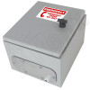 Altelix 12x10x6 Steel Outdoor Weatherproof NEMA 4X Phone Call Box with Emergency Phone Label