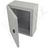Altelix 12x10x6 Steel NEMA 4x / IP66 Weatherproof Equipment Enclosure with Blank Steel Equipment Mounting Plate