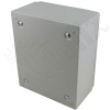 Altelix 12x10x6 Vented Steel Weatherproof NEMA Enclosure with Steel Equipment Mounting Plate