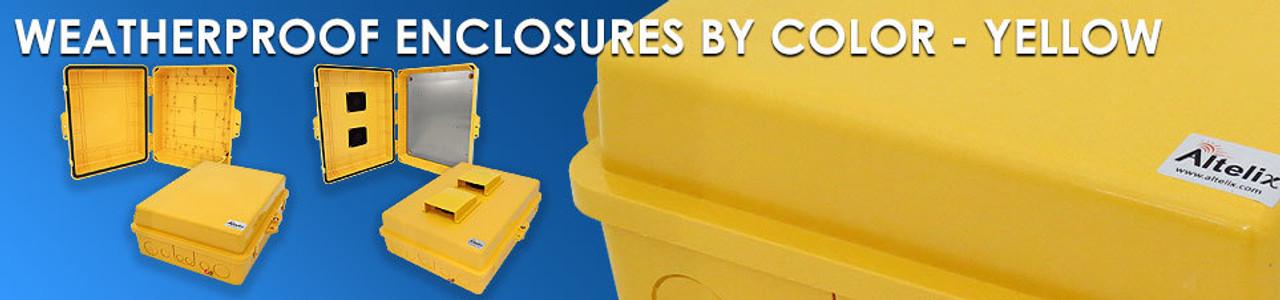 Yellow Enclosures