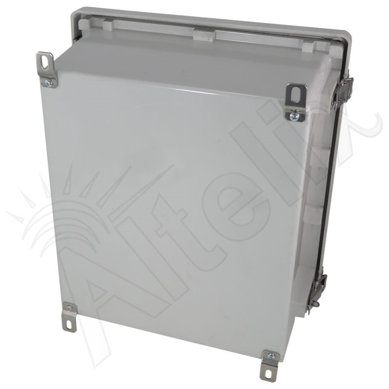 New Open Box Altelix 14x12x8 Fiberglass NEMA 4X Box Weatherproof Enclosure