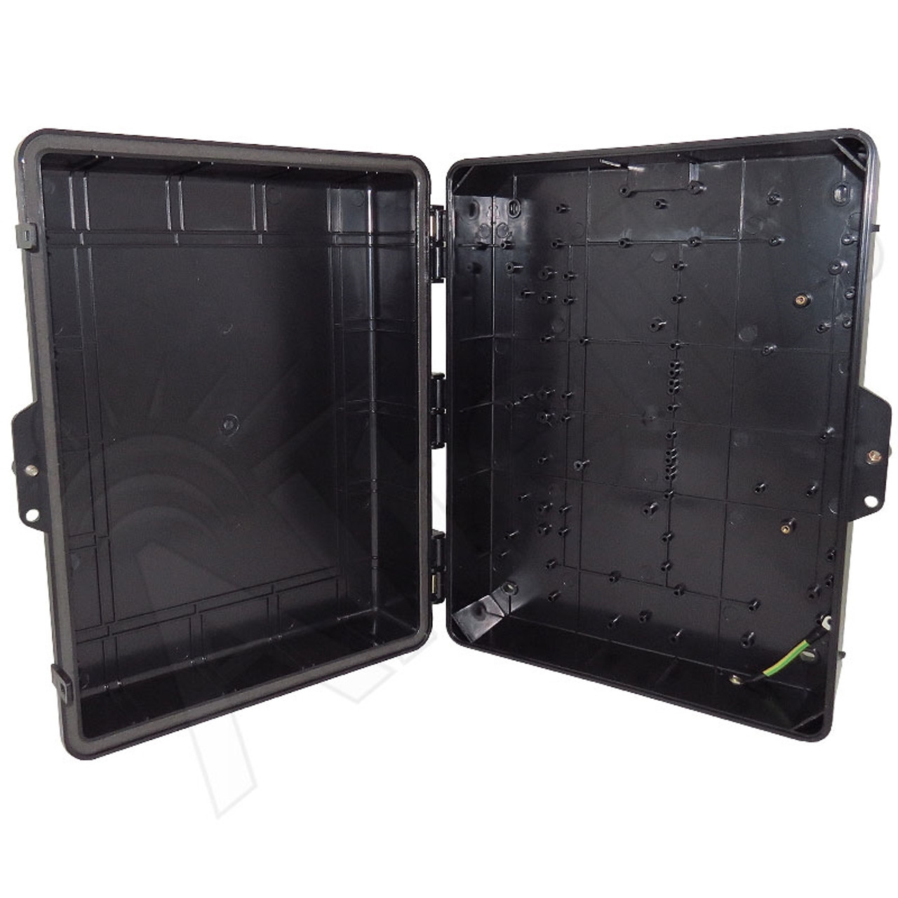ABS Housing 172x176x68 Plastic Casing Black Universal Chassis A1001AW
