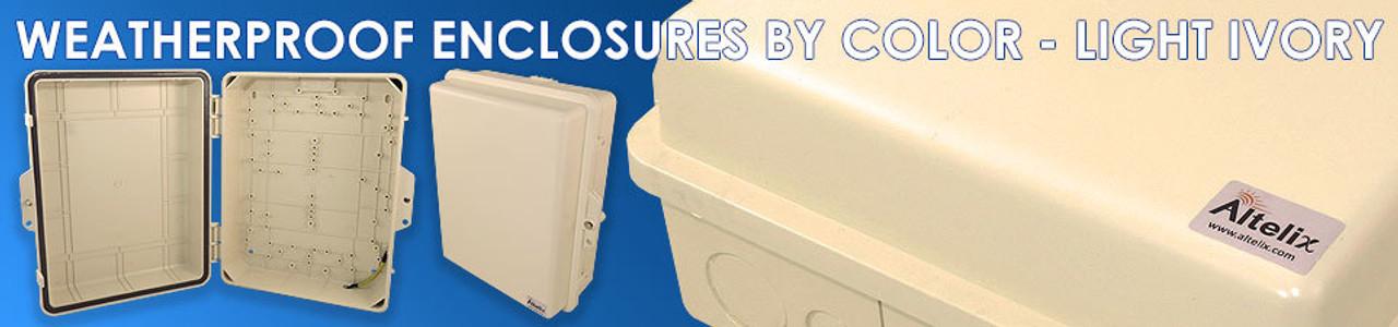 Light Ivory Enclosures