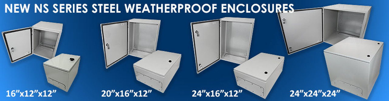 New NS Series Steel Enclosures