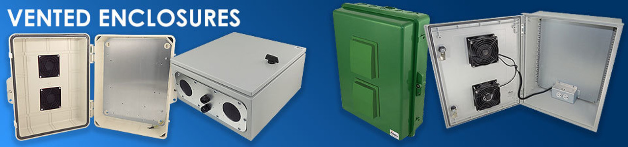 Vented Weatherproof Enclosures