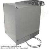 Stainless Steel Pole Mount / Flange Mount Kit for Altelix NFC322412, NS242412, NS242416 & NS282416 Series NEMA Enclosures