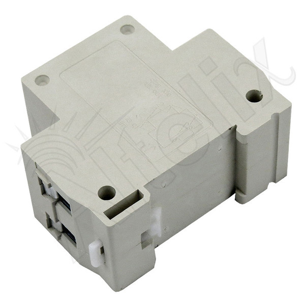 DIN Rail Mounted 3 Prong Australia Type I Power Receptacle