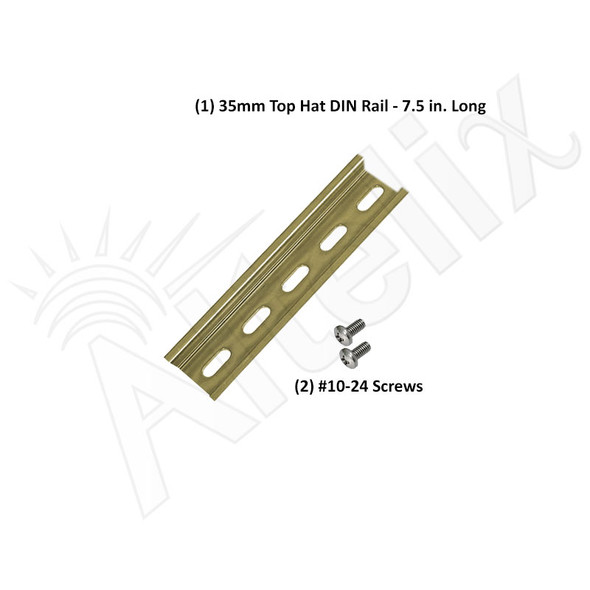 35mm Top Hat DIN Rail Kit for NF100806 Series Enclosure